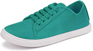 2ROW Women's Canvas Green Sneakers