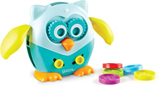Learning Resources LER9045 Hoot the Fine Motor Owl (6 Piece),Multi