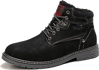 ARRIGO BELLO Homme Bottes Bottines Hiver Chaud Antidérapant Décontractées Boots Chukka Classiques Souples Chaussures De Ma...