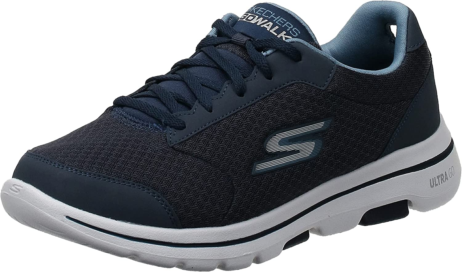 Skechers Men's Gowalk 5 Qualify-Athletic Alternative Limited time for free shipping dealer Mesh Up Lace Performanc
