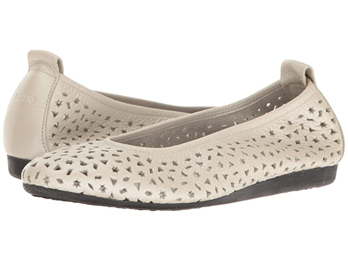 Arche  Lilly (Nacre/Brume Fast Metal) Womens Flat Shoes