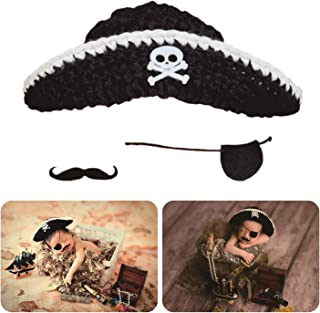 knitted pirate hat