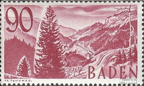 la red entera más baja Prophila Collection Franz. zona-Baden 37 examinado 1948 1948 1948 sellos (sellos para los coleccionistas) paisajes  n ° 1 en línea