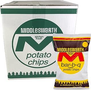Middleswarth Kitchen Fresh Potato Chips Bar-B-Q Flavored- 3 LB. Box