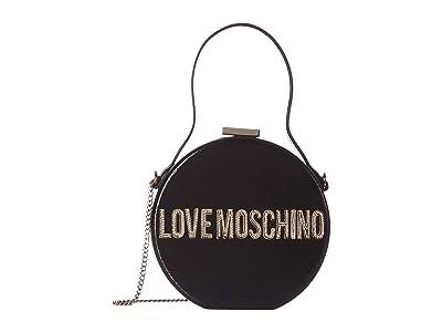 LOVE Moschino Circle Bag (Nero) Handbags