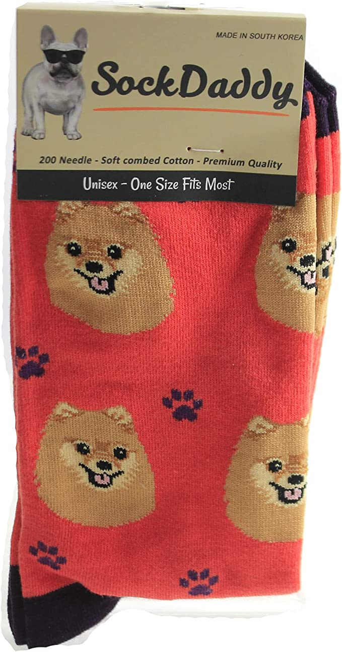E&S Pets Zwergspitz Hunde Socken, Unisex, Socken  Amazon.de Haustier
