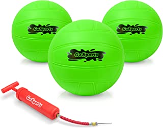 GoSports Water Volleyball 3 Pack Great for Swimming Pools or Lawn Volleyball Games