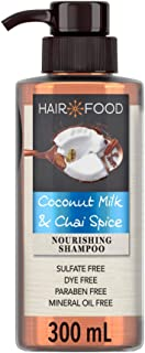 Sulfate Free Nourishing Shampoo with Coconut and Chai Spice Hair Food 300ml