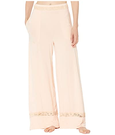 Free People Maddie Sleep Pants (Peach) Women