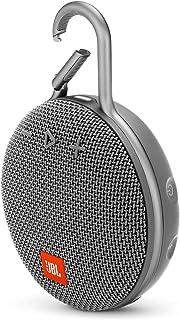 JBL Clip 3 Portable Waterproof Wireless Bluetooth Speaker - Stone Gray, JBLCLIP3GRY