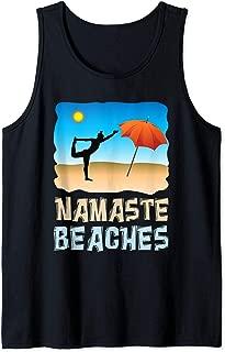Namaste Beaches Yoga Tank Top