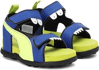 Puma Unisex-Child Shrek Jr Idp Surf The Web-Fizzy Yellow-p Outdoor Sandals