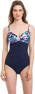 Women Tahiti Tankini Lace Top Swimsuit