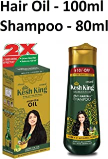 Kesh King Emami Shampoo And Oil 120Ml Combo