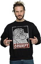 Disney Men's Snow White Grumpy Dwarf Poster Sweatshirt