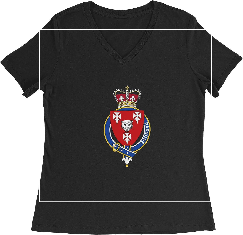 HARD EDGE DESIGN Women's English Garter Family Parsons T-Shirt