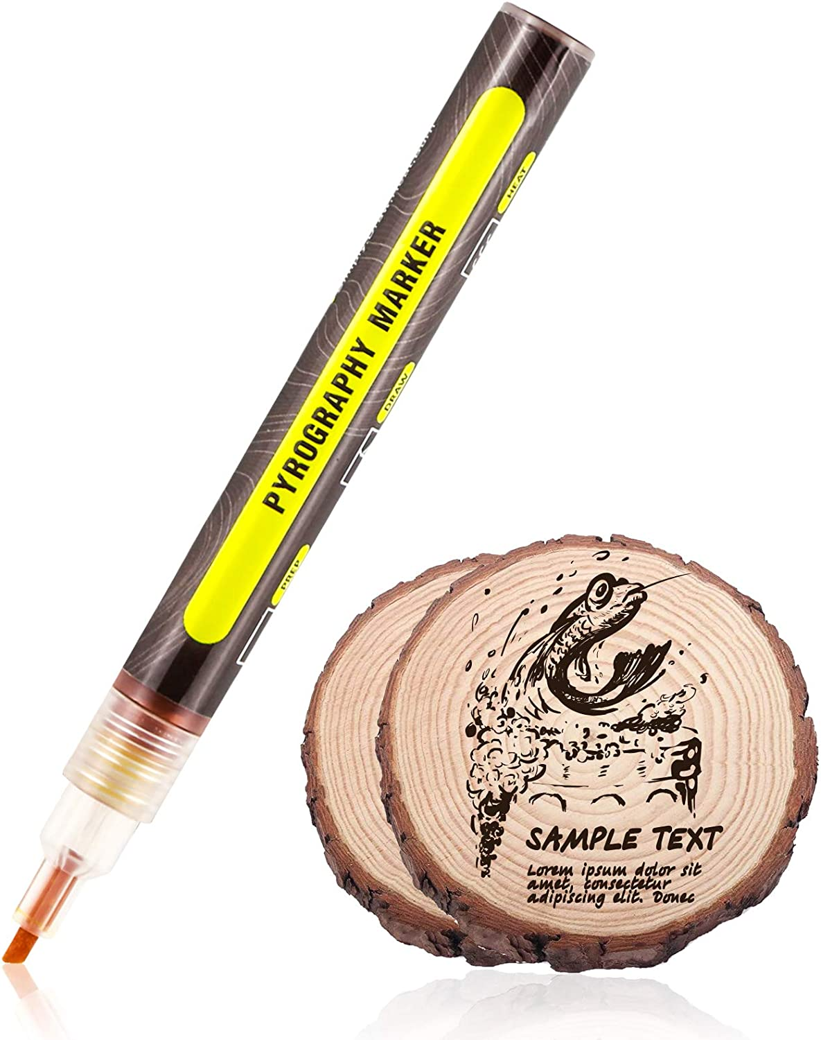 Wood Tulsa Mall Burning Pen Burned Marker C DIY National products for Projects