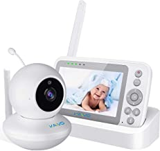KAVVO Baby Monitor with Camera and Audio, Video Baby Monitor with 4.3