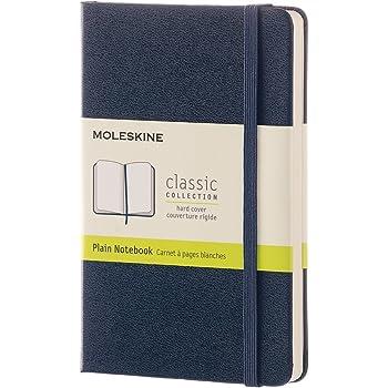 モレスキン ノート クラシック ノートブック ハードカバー プレーン(無地) ポケットサイズ サファイアブルー QP012B20