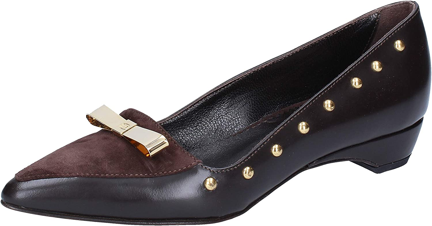 Braccialini Pumps-shoes Womens Leather Brown