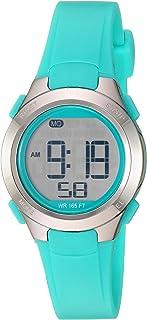 Amazon Essentials - Reloj digital con cronógrafo de resina para mujer