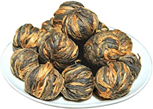 Black Tea Golden Pekoe Dragon Pearls Loose Leaf Tea Premium Chinese Tea loose leaf,2OZ (16 servicing)