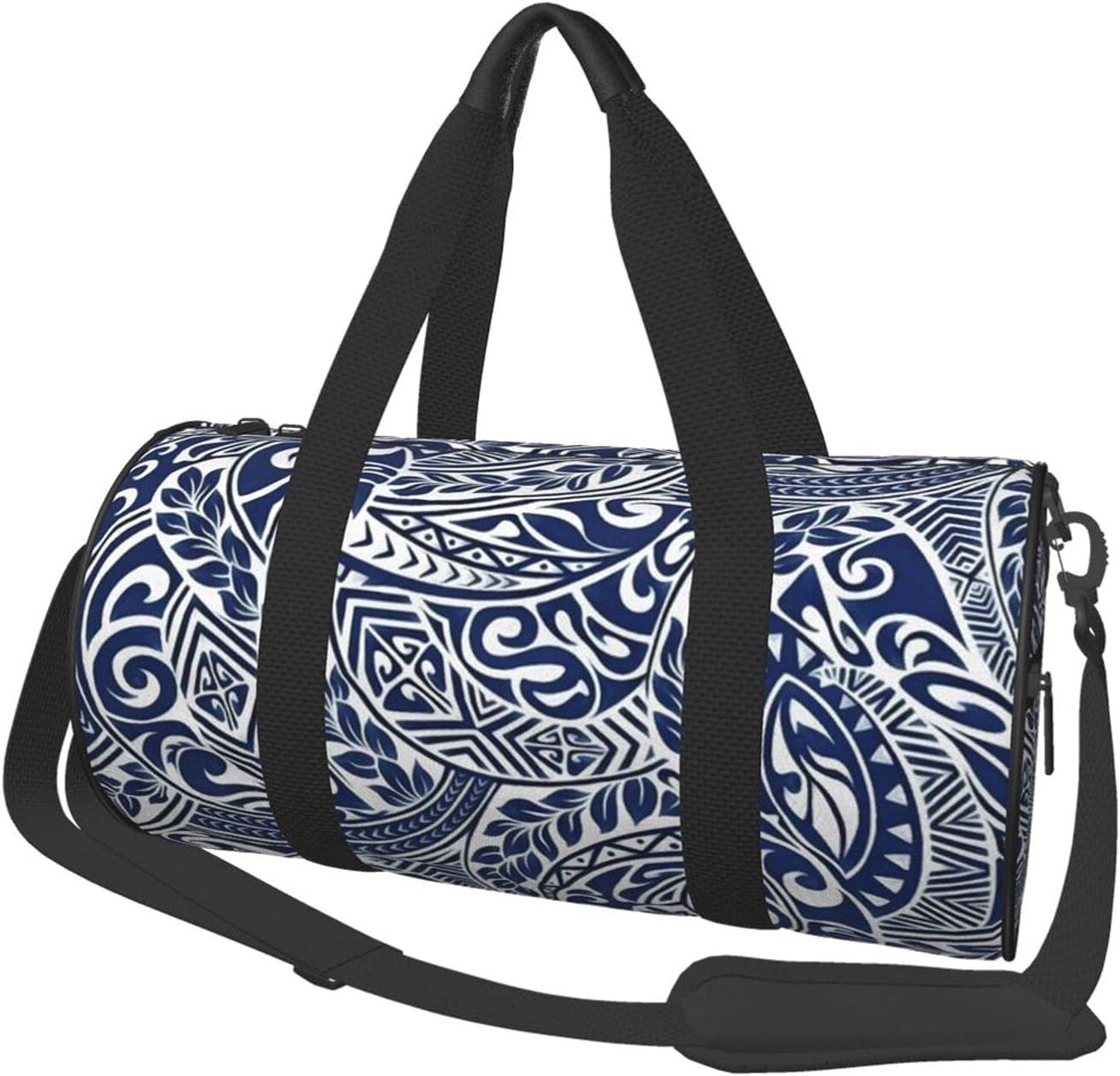 Round Sports Gym Bag Hawaiian Ranking TOP12 Handbag Sh Cheap mail order sales Yoga Pattern Tribal