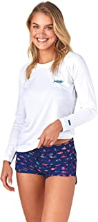 Scales Women's Trippy Fish in Navy Blue