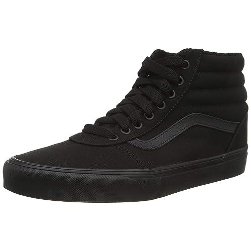 vans shoes black high tops