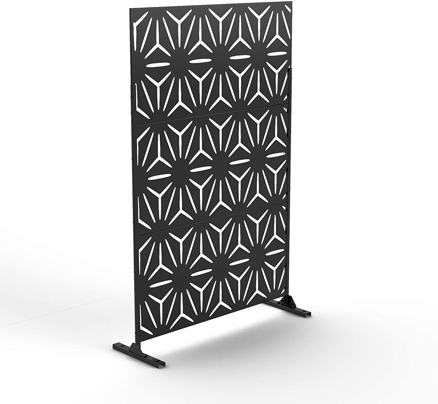 NeuType Decorative Cheap sale Privacy Screen shop Outdoor Fe Stand with Divider