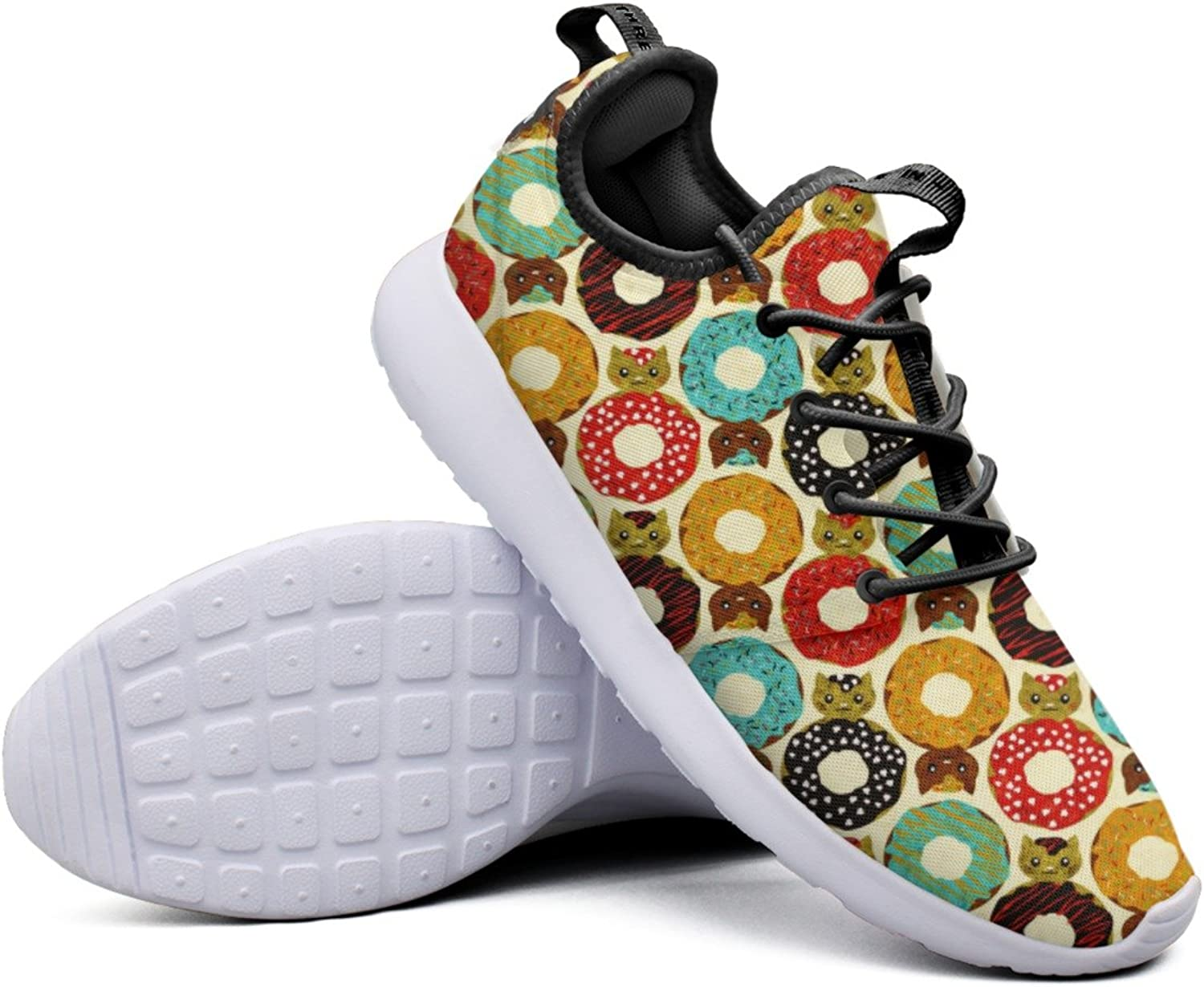 Fashion Sneakers shoes For Women Donut Cats Dunutcats Simple Lightweight Breathable Mesh Womens Sneakers