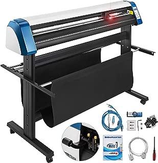 VEVOR Vinyl Cutter 53 Inch Vinyl Cutter Machine Semi-Automatic DIY Vinyl Printer Cutter Machine Manual Positioning Sign Cutting with Floor Stand Signmaster Software