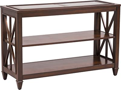 Amazon.com: Coaster Home Furnishings 2-Shelf Sofa Table ...
