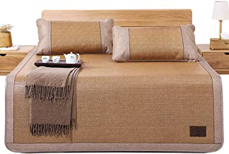 LITT Bamboo Cool Mattress - Family Foldable Thick Rattan Seat Available On Both Sides Without Cushions - Eight Sizes to Ch...