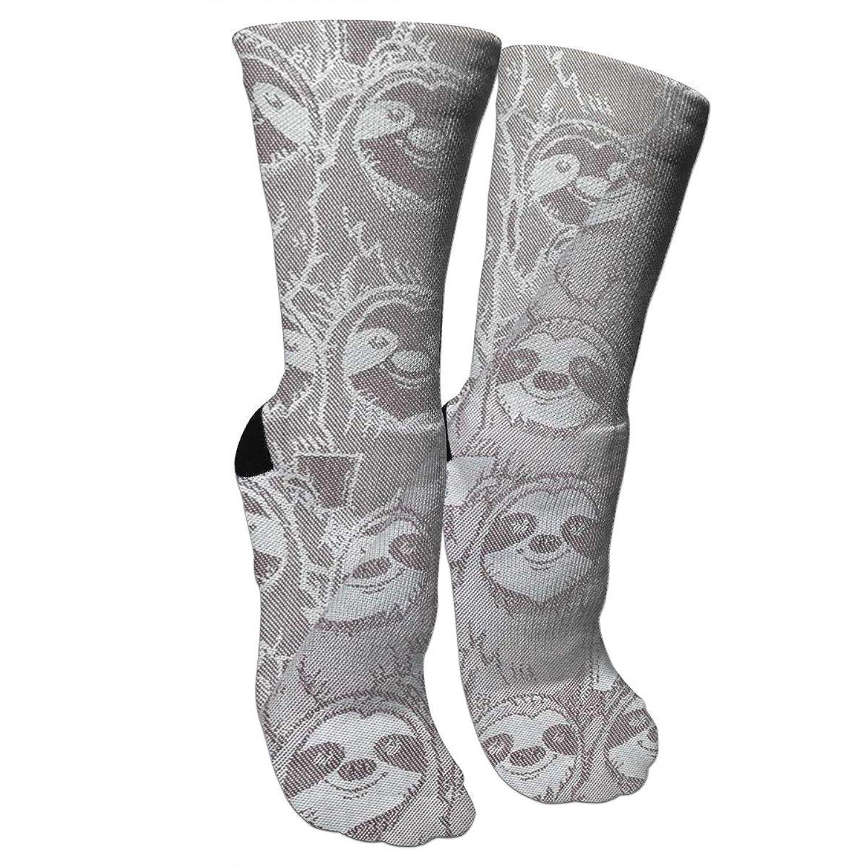 靴下 抗菌防臭 ソックス スレートミームアスレチックスポーツソックス、旅行&フライトソックス、塗装アートファニーソックス30 cmロング靴下
