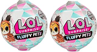 Winter Disco L.O.L Surprise - Set of 2 Fluffy Pets (9 Surprises Each)