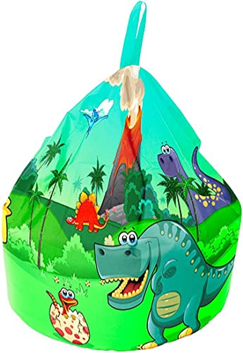 Dinosaurier Insel Griff Beanbag-Large