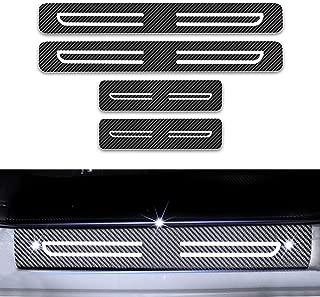 LSYBB Car Accessories stainless steel Scuff Plate//Door Sill pedal bienvenidos fit for Suzuki Swift 2005-2015
