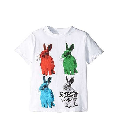 Burberry Kids Bunny Tee (Little Kids/Big Kids)