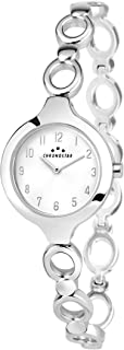 Chronostar R3753275504 Selena Year Round Analog Quartz Silver Watch