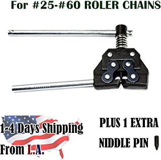 Roller Chain Breaker Cutter for Chain Size 25, 35, 40, 41, 50, 60,420, 415,415H