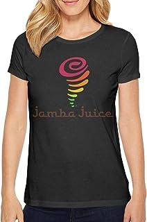 Ruslin Women's Jamba Juice t-Shirt Short-Sleeve Cotton