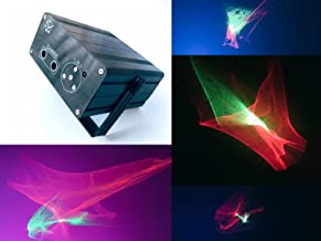 Abstract 3D Graphics Laser Light 5Light Source 5V 2A Control Background Color With IR Remote Control Voice Activated Stage Lamp Projector Lamp Lumiere DJ Club Party Live Show Projector square