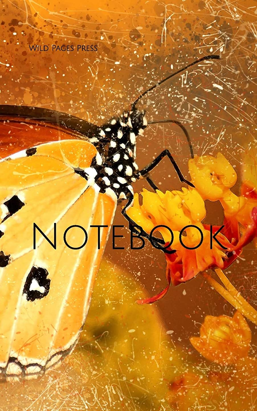 脚本家スペル財政Notebook: butterfly insect small flower plant nature cocoon caterpillar blossom butterflies insects