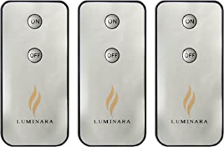 Luminara LED Flameless Candle Remote Control (3-Pack)