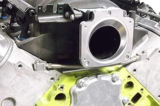 ICT Billet LS Throttle Body Adapter - LS1 3 Bolt Intake Manifold to LS3 4 Bolt Throttle Body DBC LM7 LR4 LQ4 LS6 L59 LQ9 LM4 L33 LSX 4.8L 5.3L 5.7L 6.0L Billet 551513