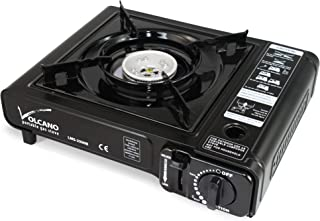 Sponsored Ad - ROM AMERICA Portable Butane Gas Stove Burner Camping Stove with Carrying Case 가스버너