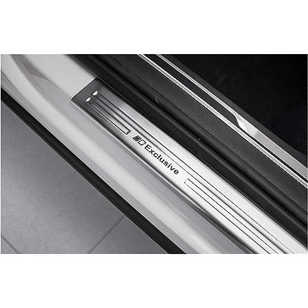 Tuning Art Ex126 Edelstahl Einstiegsleisten Set Farbe Silber Auto