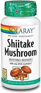 Solaray Shiitake Mushroom 600 mg | 100 Count