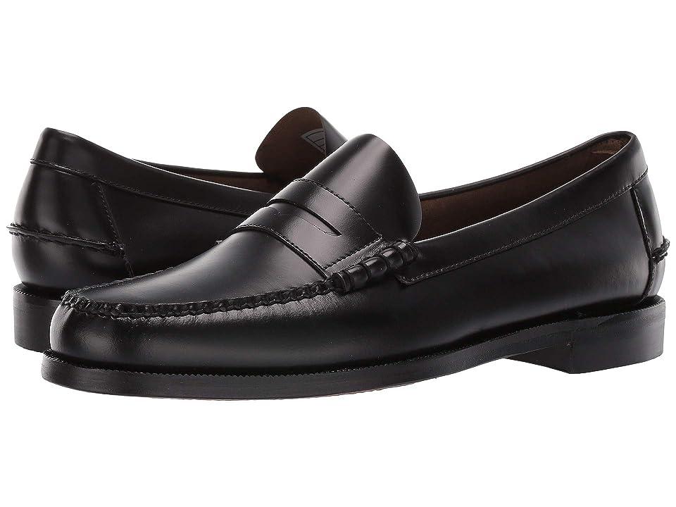 Sebago Classic Dan (Black) Men's Shoes